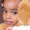Toddler Huging Bear