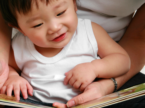 Young-Infant-Reading